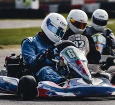 Go kart racing, sprint racing, enduro racing